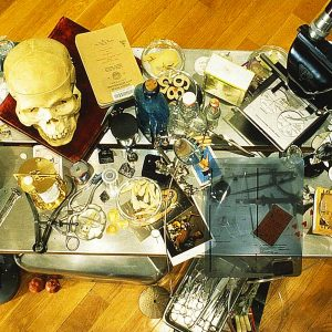 <b>Amalia Mesa-Bains</b> <i>Vanitas: Evidence, Ruin, and Regeneration (detail)</i>, installation, 1997