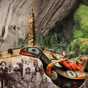 "<b>Amalia Mesa-Bains</b> <i>The Wunderkammer Collection: Bill's Haida Memory</i>, print, 26"" x 32"", 2013"