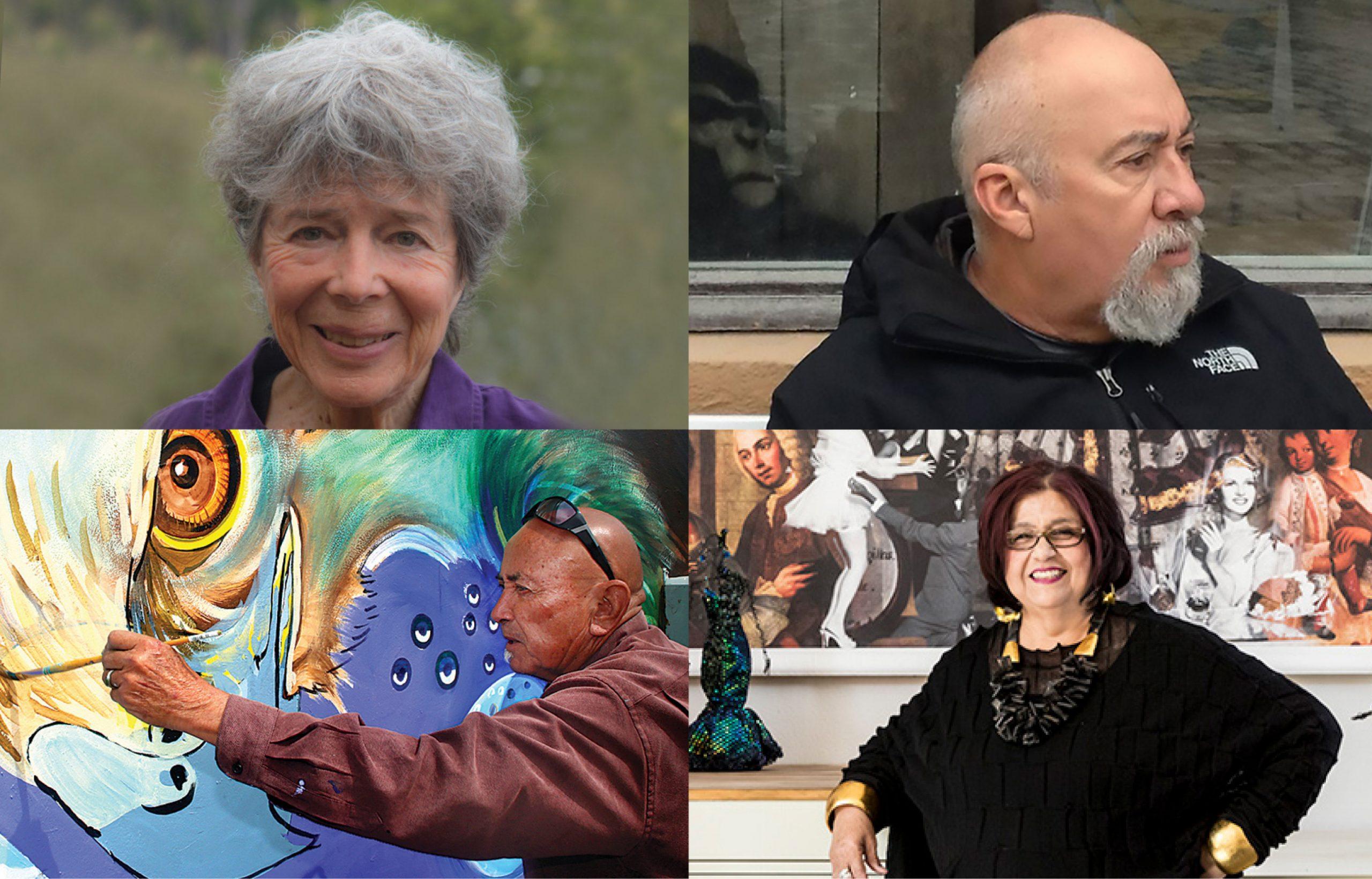 Carmen Leon, Ralph D'Oliveira, Yermo Aranda, Amalia Mesa-Bains